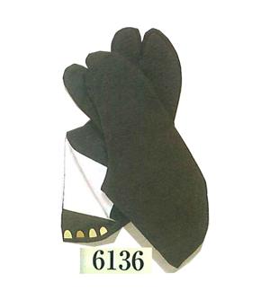 黒足袋(黒布底)