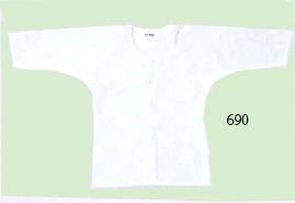 白鯉口シャツ(厚地)
