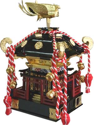 コロナに負けるなGO GO GO キャンペーン 神輿「住吉黒」14号